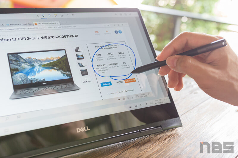 Dell Inspiron 7391 NBS Review 60