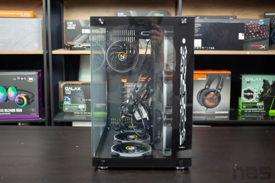 E ATX Case NP Tsunami 1262 Protector Gaming 1