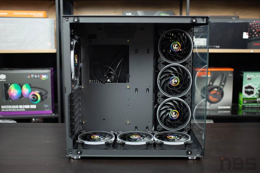 E ATX Case NP Tsunami 1262 Protector Gaming 14