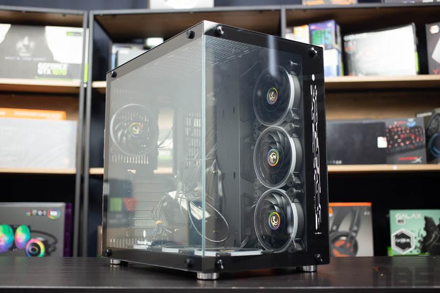 E ATX Case NP Tsunami 1262 Protector Gaming 9