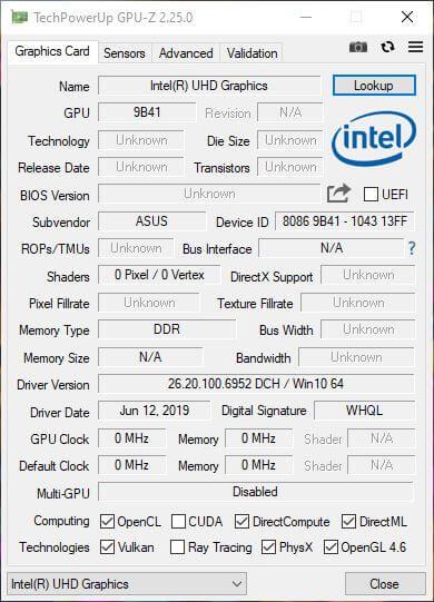 GPU Z 1