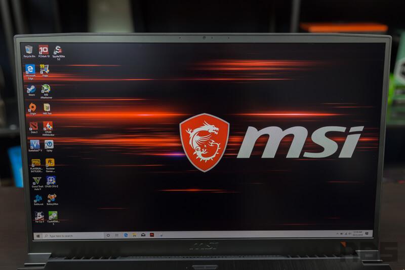 MSI GF75 9SD Review 4