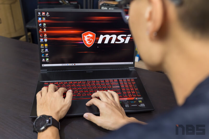 MSI GF75 9SD Review 59