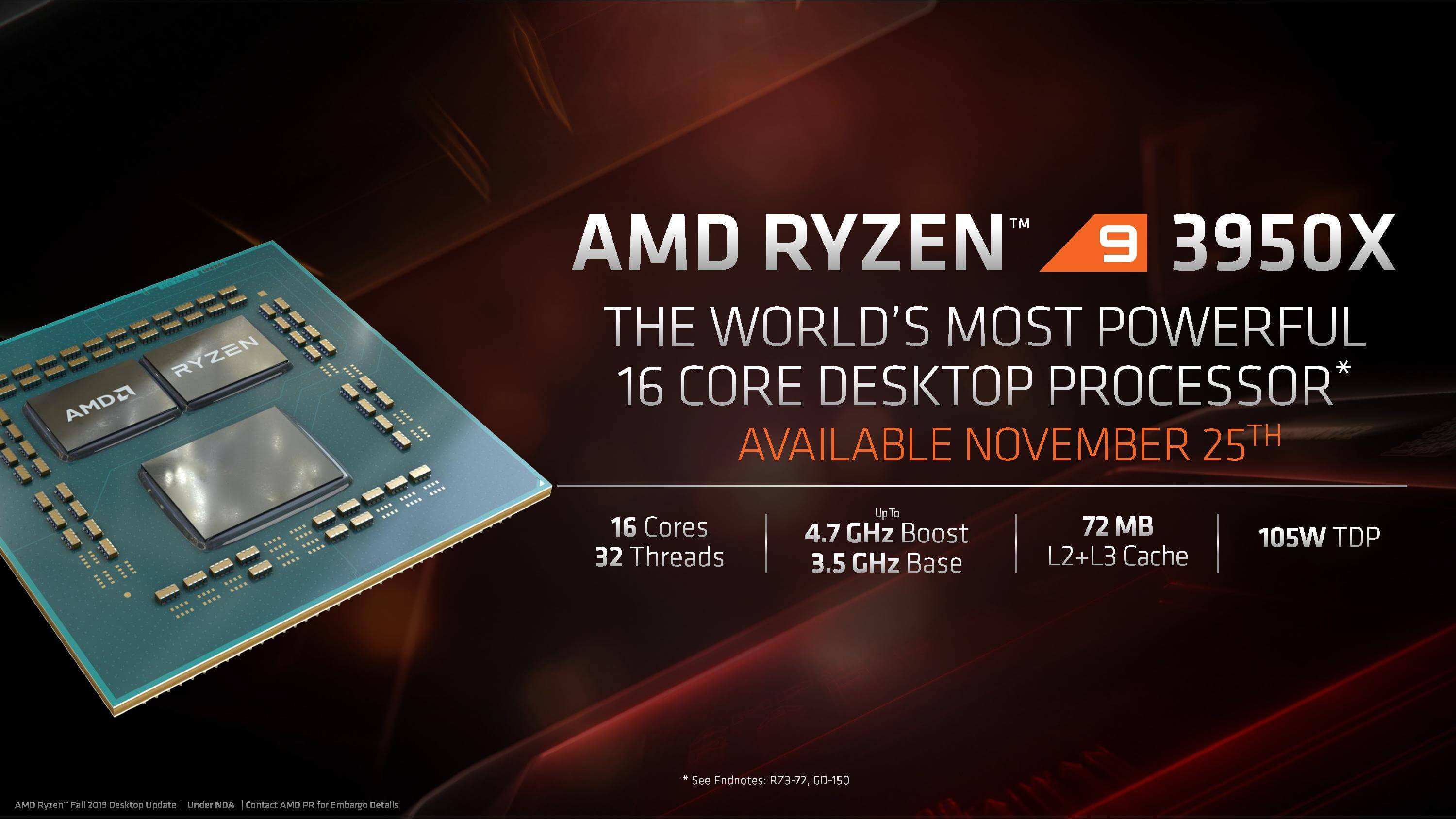 AMD Fall Desktop Announcement Briefing Deck page 002