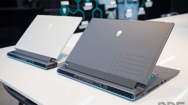 Alienware M15 R2 Preview NBS 64
