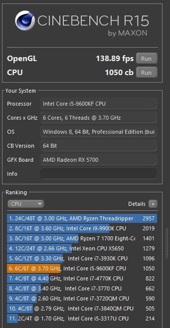 CINEBENCH R15.0 11 4 2019 12 06 07 PM