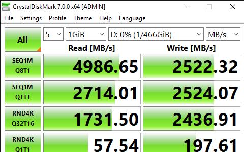 CrystalDiskMark 7.0.0 x64 ADMIN 11 15 2019 1 37 33 AM