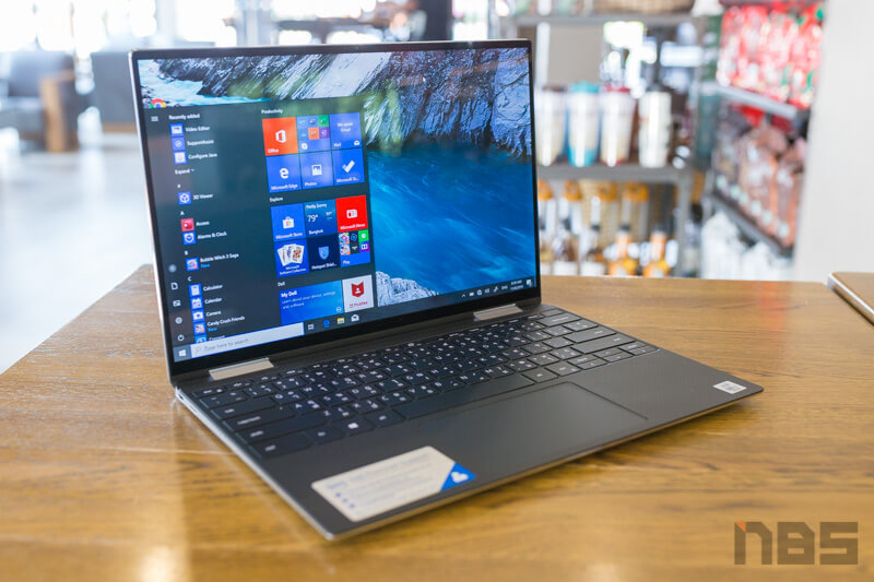 Dell XPS 13 2 in 1 Core i Gen 10 Review 11