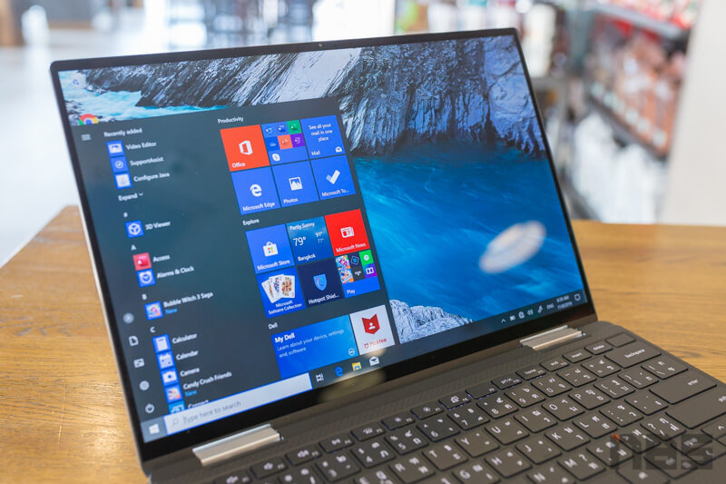 Dell XPS 13 2 in 1 Core i Gen 10 Review 42