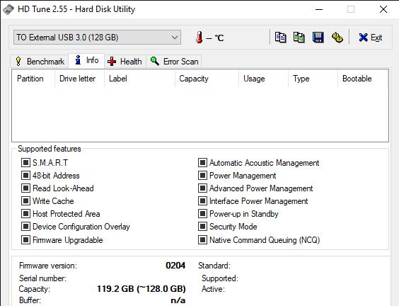 HD Tune 2.55 Hard Disk Utility 11 6 2019 10 29 40 AM