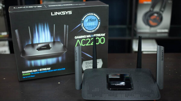 LINKSYS GAMING MAX STREAM AC2200 4