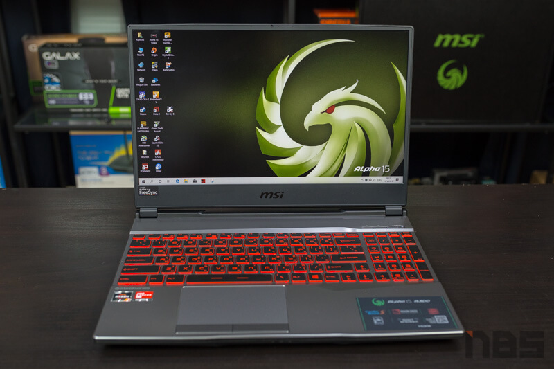MSI Alpha 15 AMD NBS Review 2