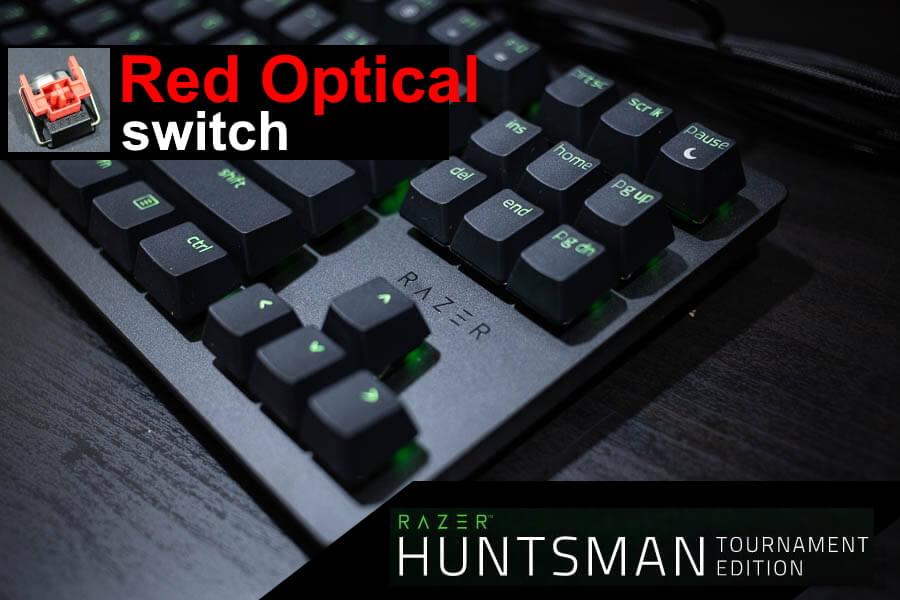 Razer Huntsman Tournament Edition เกมมิ่งคีย์บอร์ดไซส์เล็ก กดไว ไฟแจ่ม