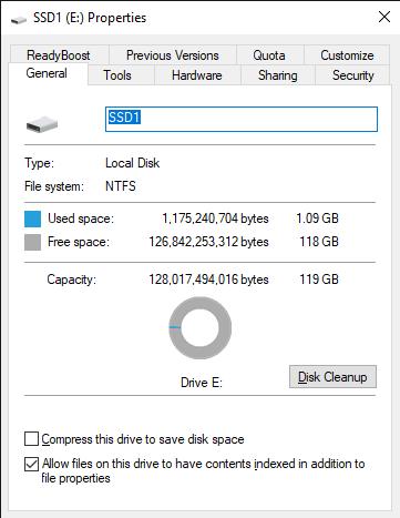 SSD1 E  Properties 11 5 2019 4 34 16 PM