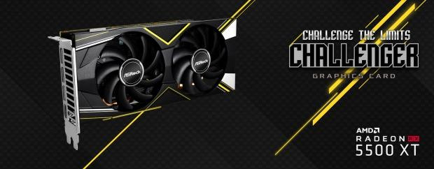14764 01 asrock launches radeon rx 5500 xt challenger 8g oc 4g graphics cards