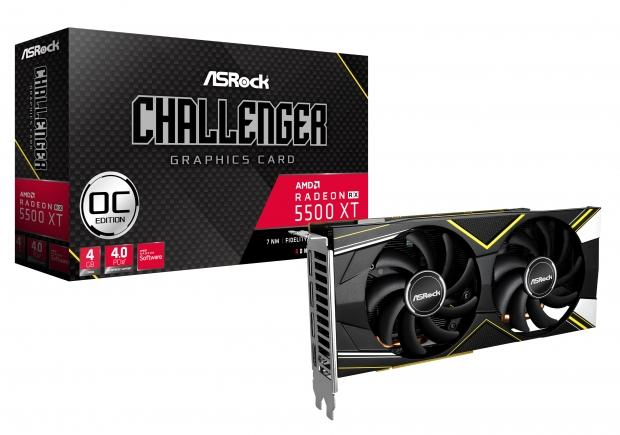14764 02 asrock launches radeon rx 5500 xt challenger 8g oc 4g graphics cards