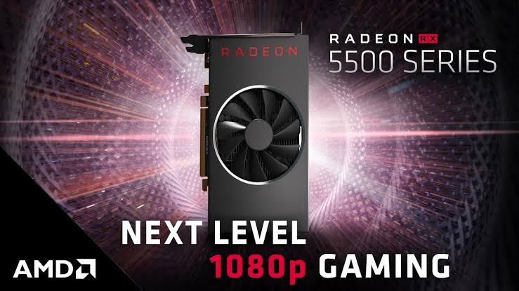 AMD Radeon RX 5500 Graphics Cards 1