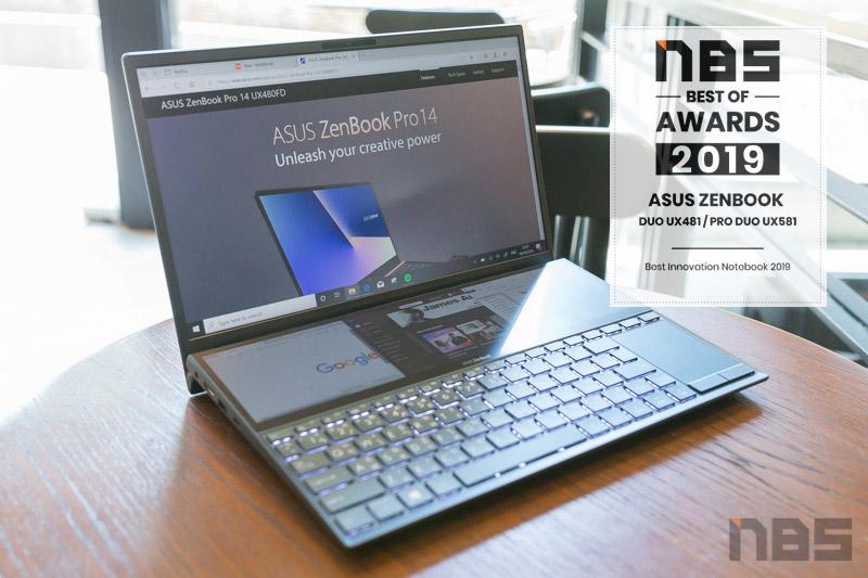 ASUS ZenBook Duo UX481 Award