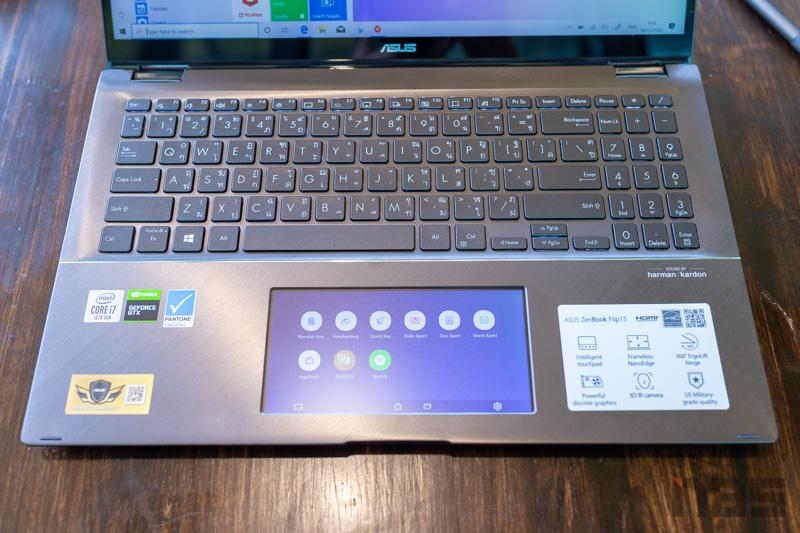 ASUS ZenBook Flip 15 2 in 1 Review 19