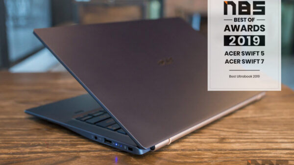 Acer Swift 5 Core i Gen 10 NBS award