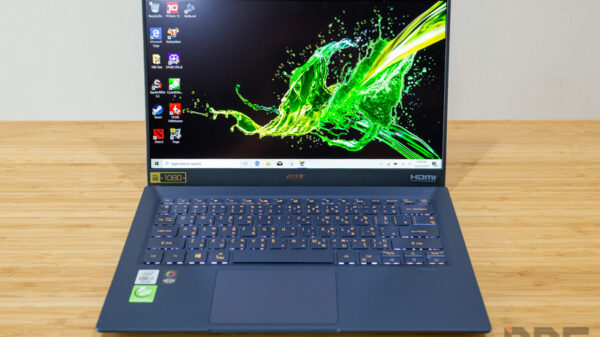 Acer Swift 5 Core i7 Gen 10 Review 1
