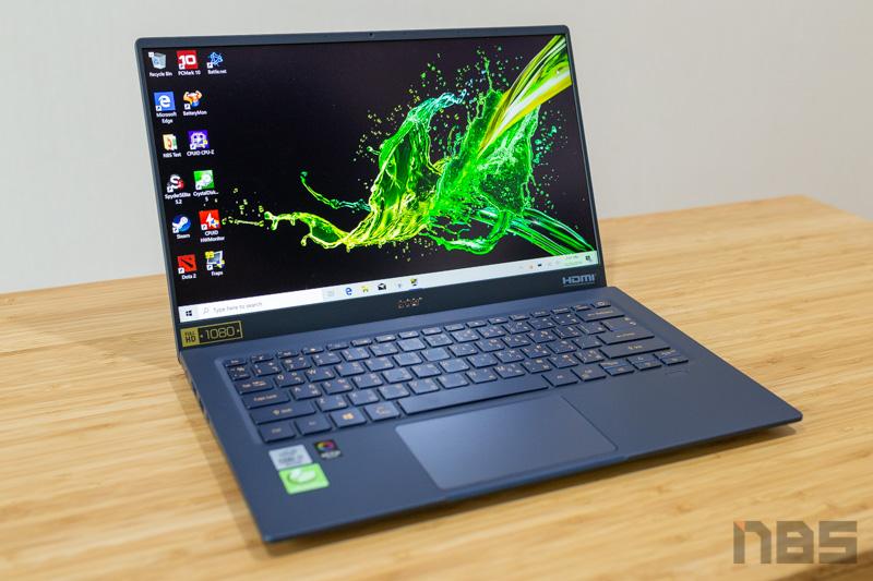 Acer Swift 5 Core i7 Gen 10 Review 2