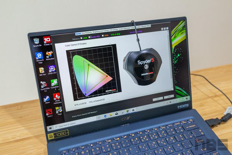 Acer Swift 5 Core i7 Gen 10 Review 53