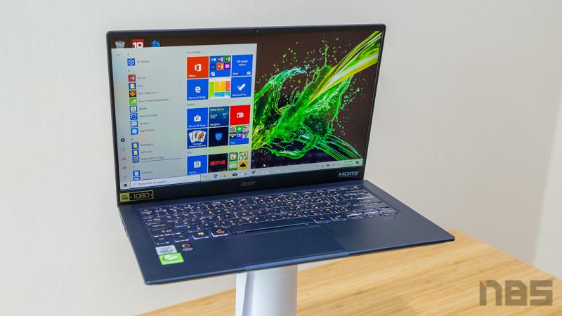 Acer Swift 5 Core i7 Gen 10 Review 58