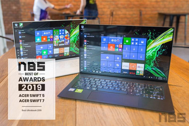Acer Swift 7 2019 NBS award