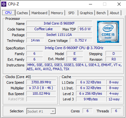 CPU Z 12 24 2019 11 30 03 AM