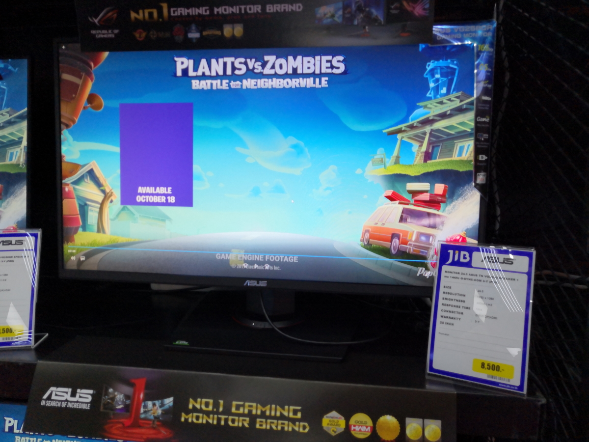 Gaming monitor Commart Work 2019 17
