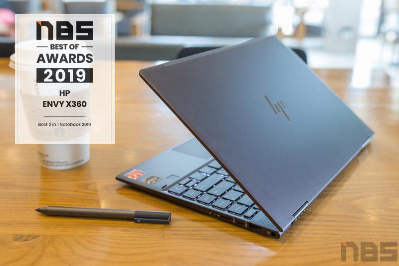 HP ENVY x360 2019 award