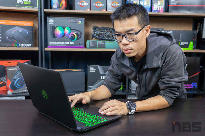 HP Pavilion Gaming 15 R7 GTX1660Ti Review 52