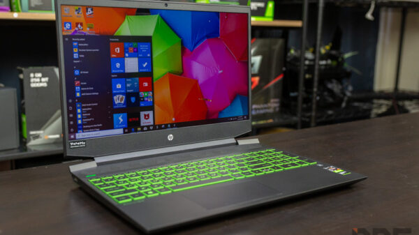 HP Pavilion Gaming 15 R7 GTX1660Ti Review 6
