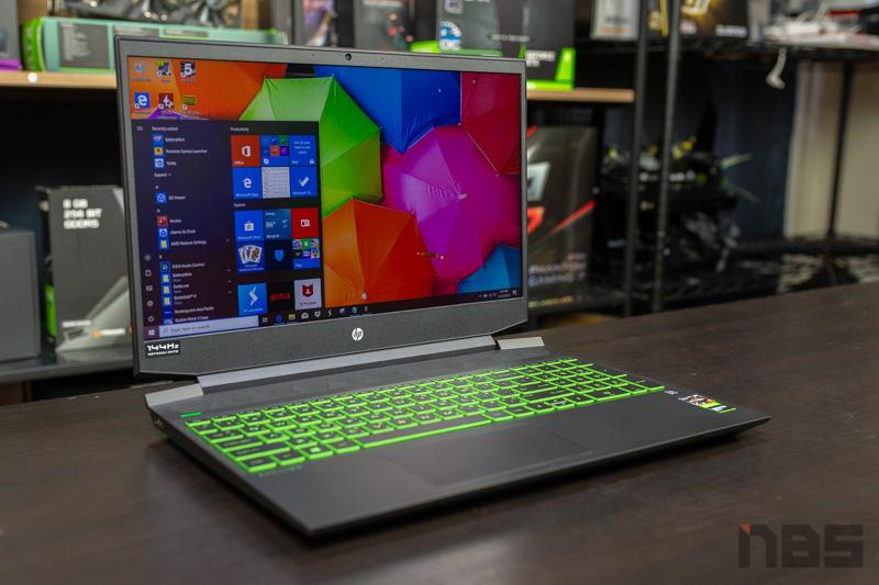 HP Pavilion Gaming 15 R7 GTX1660Ti Review 6