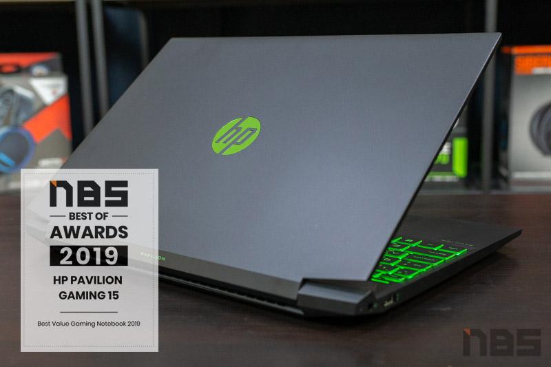 HP Pavilion Gaming 15 R7 GTX1660Ti award