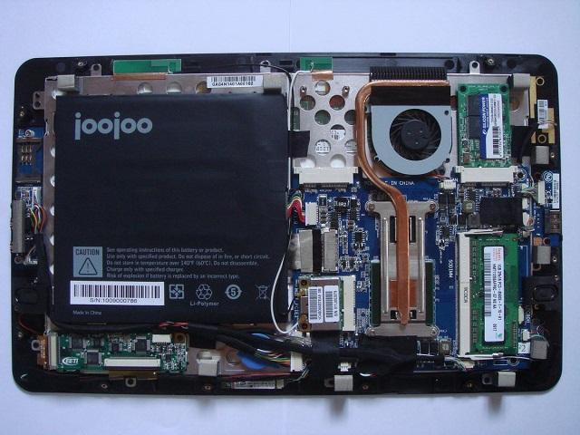 JooJoo inside