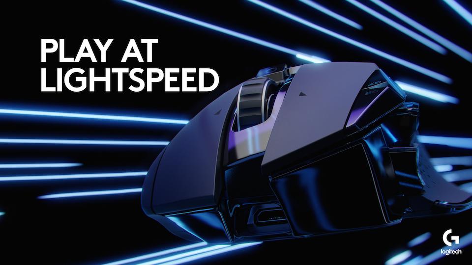 Pic G502 LIGHTSPEED MC Feature Lightspeed Poster