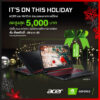 RV Acer x Nvidia Geforce Holiday Promotion
