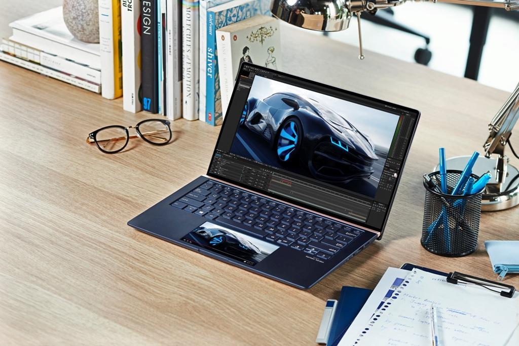 ZenBook Series UX334 UX434 UX534 ScreenPad™ 2.0 Secondary screen more space