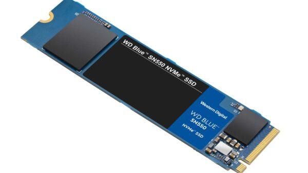 en us WD Blue SN550 SSD flat