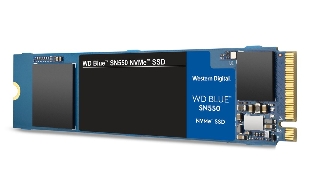 en us WD Blue SN550 SSD hero