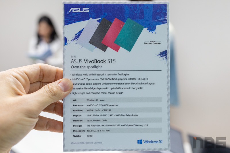 ASUS VivoBook SKX 2020 NBS Preview 105