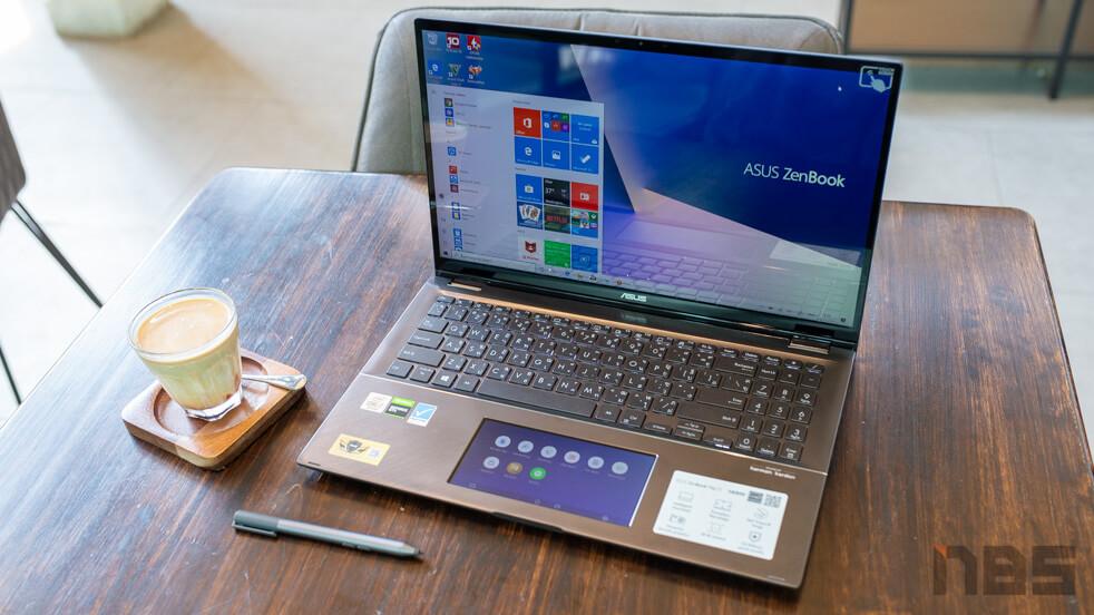 ASUS ZenBook Flip 15 2 in 1 top 1
