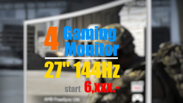 Gaming monitor 27 144hz jpg