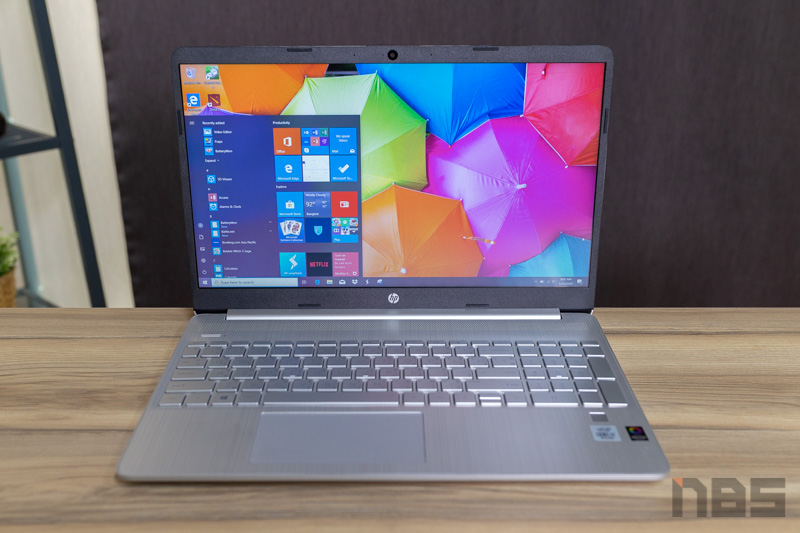 HP 15s i7 1065G7 NBS Review 3