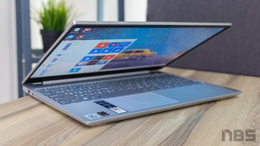 Lenovo IdeaPad S340 15 NBS top Review 1