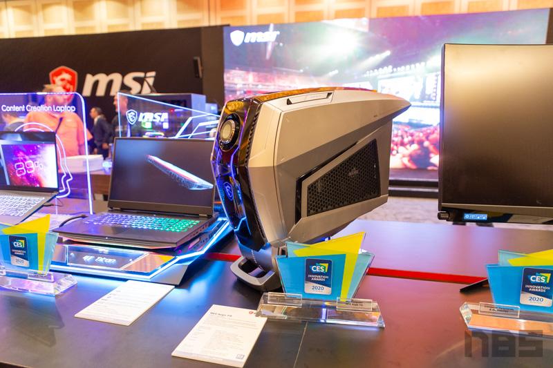 MSI PC CES 2020 21