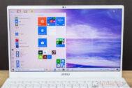 MSI Prestige 14 i7MX250 NBS Review 4