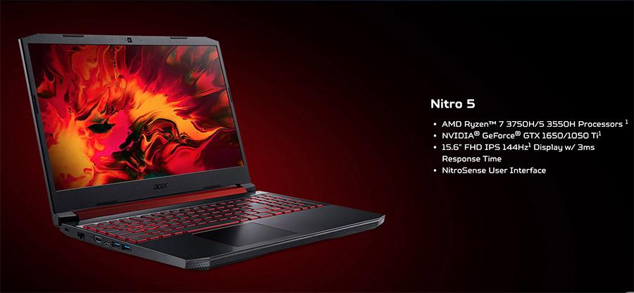 Nitro 5 AMD Ryzen 7 3750H copy